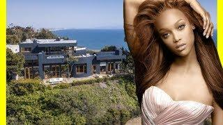 Tyra Banks House Tour $4000000 Mansion Luxury Lifestyle 2018
