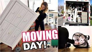 LA MOVING DAY VLOG! | Moving to My Luxury Studio Apartment! | Vlogmas 4