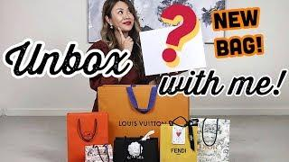 LUXURY UNBOXING/HAUL - LOUIS VUITTON, CHANEL, HERMES,  DIOR & more