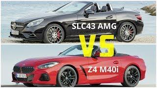 2019 BMW Z4 M40i vs Mercedes AMG SLC43