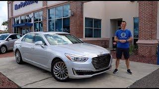 Is the 2019 Genesis G90 the BEST full size luxury sedan for the PRICE?