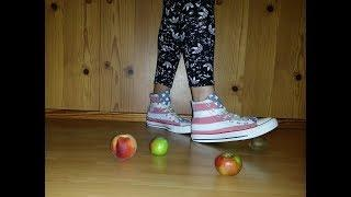 Crush fruits in my Converse Allstar