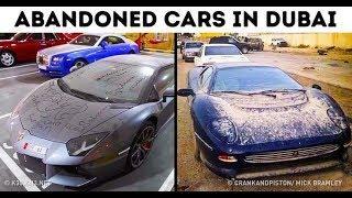 ABANDONED LUXURY CARS IN DUBAI !!!