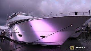 2019 Hatteras M 90 Panacera Luxury Yacht - Deck Interior Walkaround  2018 Fort Lauderdale Boat Show
