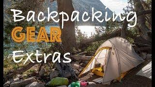 My 3 Backpacking Luxury Items