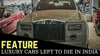 These expensive luxury cars have been left to die