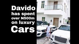 See Davido's expensive garage with cars worth over N500 million ►Luxury SUVs | 2018