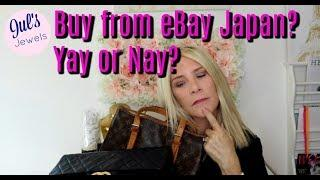 Luxury Items from eBay Japan--Good or Bad Idea?
