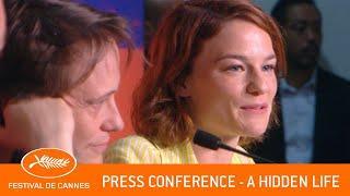 HIDDEN LIFE - press conference - Cannes 2019 - EV