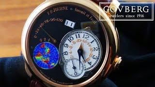 F.P. Journe Octa UTC Boutique Edition (GMT Travel Time Watch) Luxury Watch Review