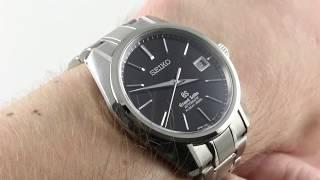 Grand Seiko Hi-Beat 36000 SBGH045 Luxury Watch Reviews