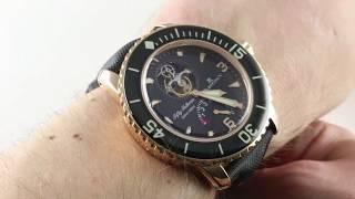 Blancpain Fifty Fathoms Tourbillon 8-Jours 5025-3630-52A Luxury Watch Review