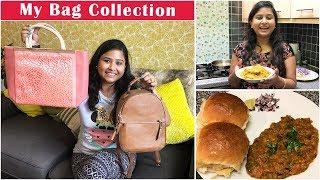 My Bag Collection 2019 | Luxury and Affordable Brands | Pav Bhaji Recipe