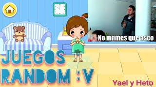 Juegos random/nos van a acusar de copyright/Yael y Heto