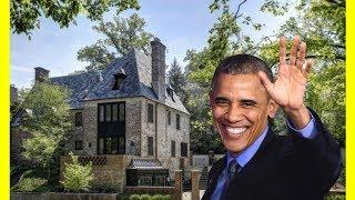 Barack Obama Family House Tour $8100000 Kalorama Heights Mansion Luxury Lifestyle 2018
