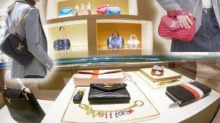 First Look - Louis Vuitton NEW WAVE MM Bag + Mini Louis Vuitton Luxury Shopping Vlog