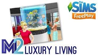 Sims FreePlay - Luxury Living Event Prizes & Pre-Built House Template (Early Access)