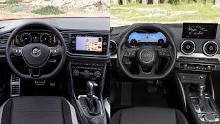 2018 Audi Q2 VS Volkswagen T-Roc - INTERIOR