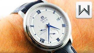 Omega De Ville Prestige POWER RESERVE 424.13.40.21.02.003 Luxury Watch Review