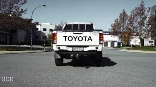 "PPD Performance - Toyota KUN Hilux 3"" Exhaust System"
