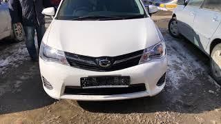 Отзыв о работе компании Luxury Auto (Люкс Авто) Новосибирск Новосибирск №257 Toyota Corolla Fielder
