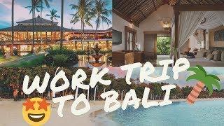 Bali LUXURY Beach Resort [5 STAR - Melia Resort] | Work Trip | Day 1 | Assad Armani