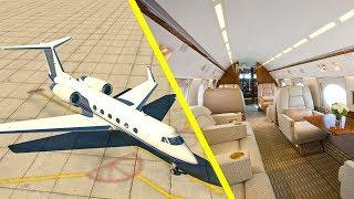 X-Plane 11 - LUXURY PRIVATE JET! (Gulfstream IV) Flight Simulator Houston, TX to Palm Beach, FL