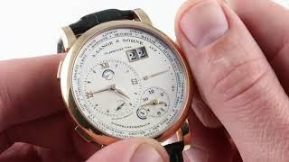 A. Lange & Sohne Lange 1 Timezone 116.032 Luxury Watch Review