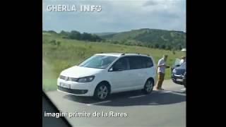 Accident - carmabol cu 6 masini Jucu (Cluj) 11 07 2018