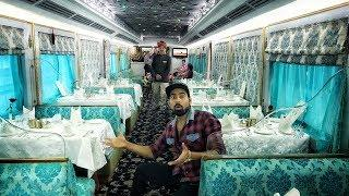 India's ₹5lakh  Luxury Train Ride | Expensive Train Ever????