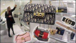 Dior Prada Gucci Luxury Shopping Vlogmas ☆ ♡ Resort & Cruise Collection Preview Pieces & Classics