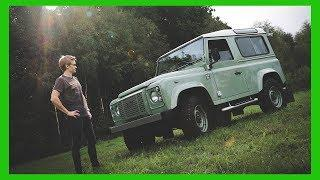 Driving One Of The Last Land Rover Defenders