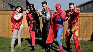 AVENGERS INFINITY WAR in REAL LIFE