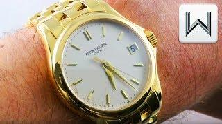 Patek Philippe Calatrava 5127/1J FULL BRACELET Automatic 5127/1J-001 Luxury Watch Review