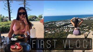 First Vlog: Mt. Coolum & Beach day