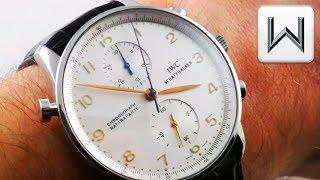 IWC Portuguese Rattrapante Chronograph (IW3712-02) Luxury Watch Review
