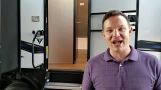 New RV Show 385FK Vengeance Toy Hauler Front Kitchen Luxury Fifth Wheel RV Camper Greeley Colorado