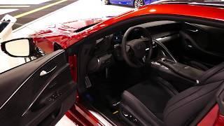 New 2019 Lexus LC500 Luxury Sports Coupe - Interior Tour - 2018 OC Auto Show, Anaheim, CA