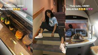 SZA Shows Off Luxury Private Plane On Her Way To Malaysia!!!!