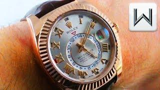 Rolex Sky-Dweller Annual Calendar GMT: Setting It  (326135) Luxury Watch Review
