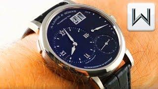 A LANGE & SOHNE GRAND LANGE 1 (117.028) Luxury Watch Review