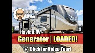 BARELY Used 2018 Jayco Pinnacle 37RSTS LOADED Luxury Fifth Wheel with Generator