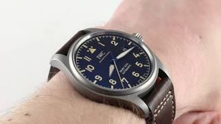 IWC Pilot's Watch Mark XVIII Heritage IW3270-06 Luxury Watch Review