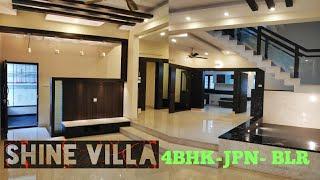 Shine Villa- 4BHK Ultra Luxury Home Sale in JP Nagar Bengaluru
