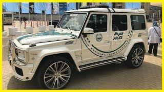 Luxury and Expensive SUVs In Dubai. Luxury Police Cars in Dubai. Arabian Travel Market Dubai 2018