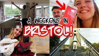A WEEKEND IN BRISTOL, LUXURY CABIN TOUR & PRIMARK HAUL!