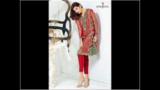 Asim Jofa Luxury Pret Formal Wear Dresses Designs 2018-19 Collection
