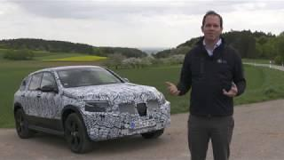 Mercedes-Benz EQC SUV Testing in Black Forest