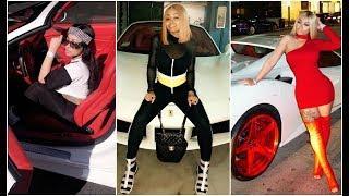 RICH Blac Chyna's Luxury CARS [VIDEO]