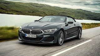 2019 BMW 8 Series Convertible – Country Road Driving Scenes